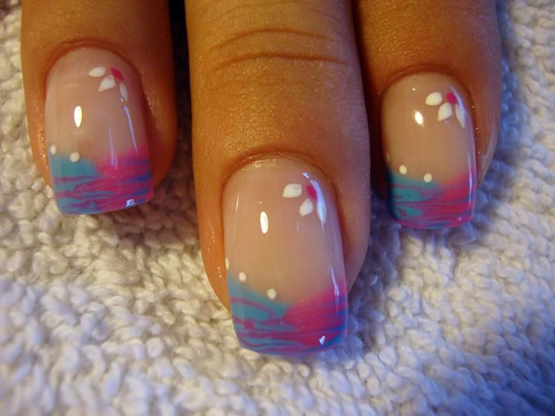 Gel Nail Designs Ideas cute summer nail designs gel nail designs ideas for summer cute nails designs Gel Marble French Nails Beauty And Morebeauty Ideasnail Artnail Artistrynailsnoteworthy Nailsother Nail Art