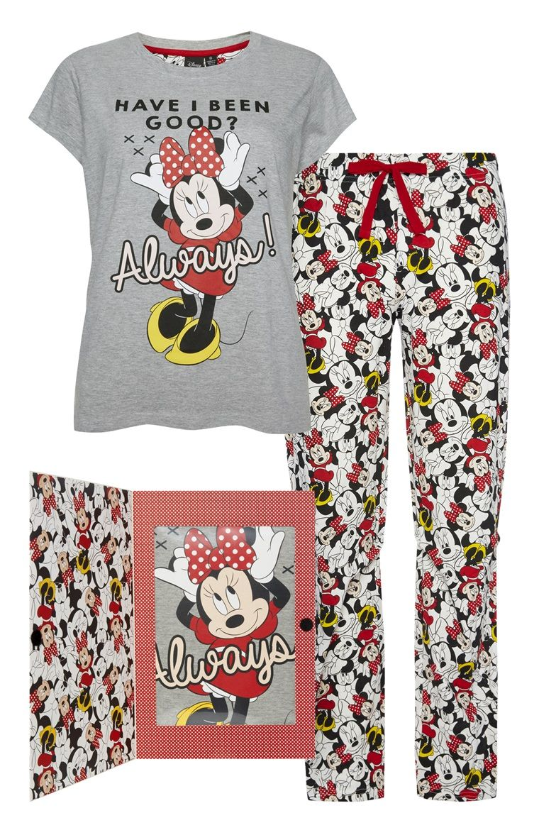 42e7223cc Primark - Minnie Mouse PJ Set Gift Box Pijamas De Adultos