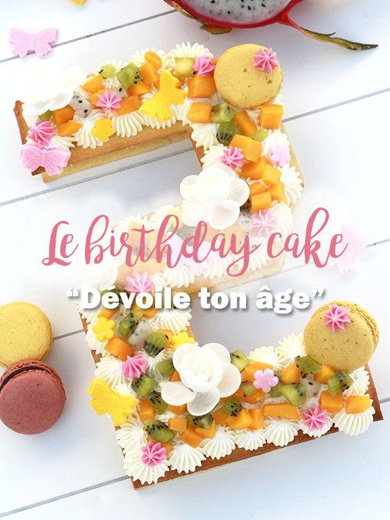 Recette du number cake le g teau qui d voile votre ge - Que mettre dans un gateau de couche ...