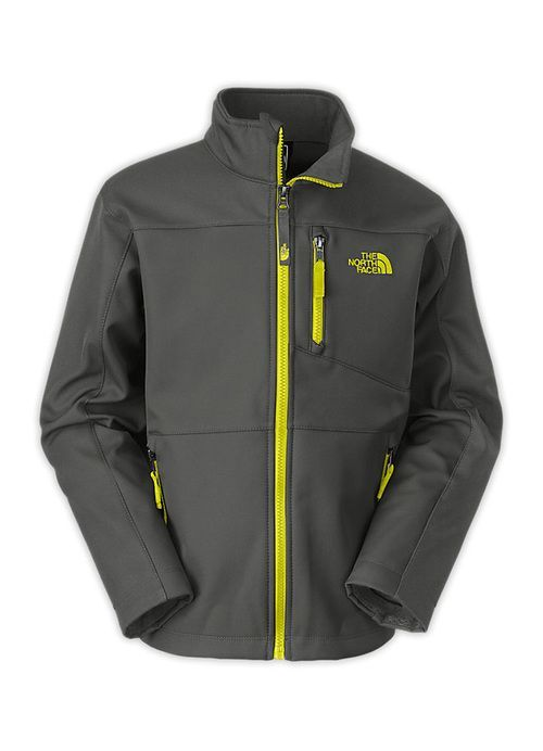 Boys TNF Apex Bionic Jacket in Graphite Grey by The North Face