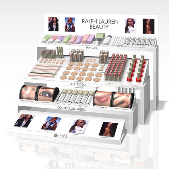 Multifunctional Countertop Acrylic Cosmetic Display Stand Each Of