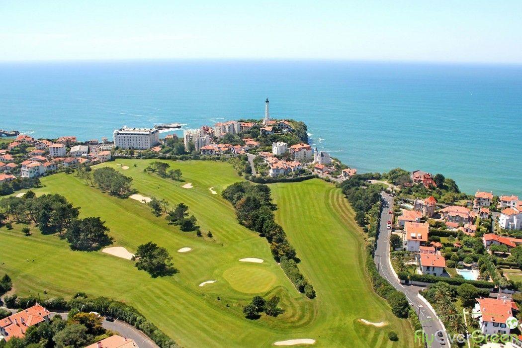 Golf De Biarritz Video Aérienne Et Réservation De Greenfee Biarritz Golf Parcours De Golf