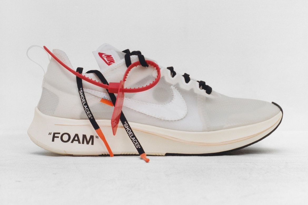 """The Off White x Nike """"The Ten"""" collection 