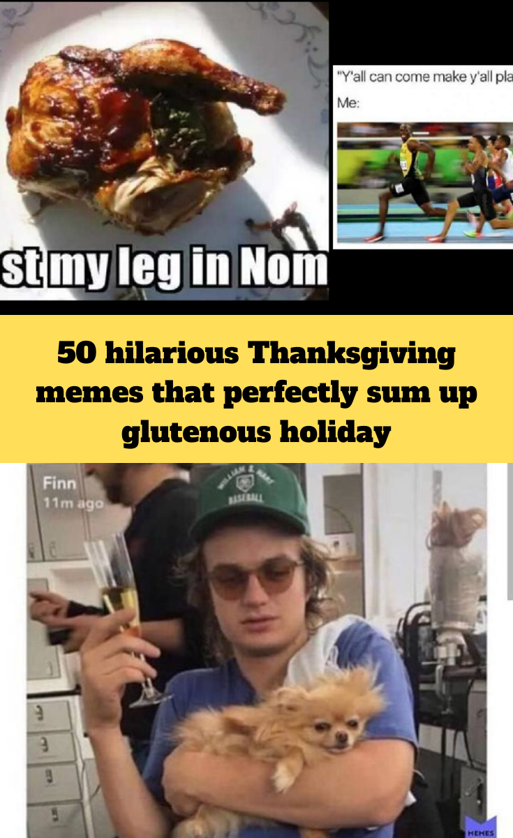 50 Hilarious Thanksgiving Memes That Perfectly Sum Up The Glutenous Holiday Holiday Meme Funny Thanksgiving Memes Hilarious