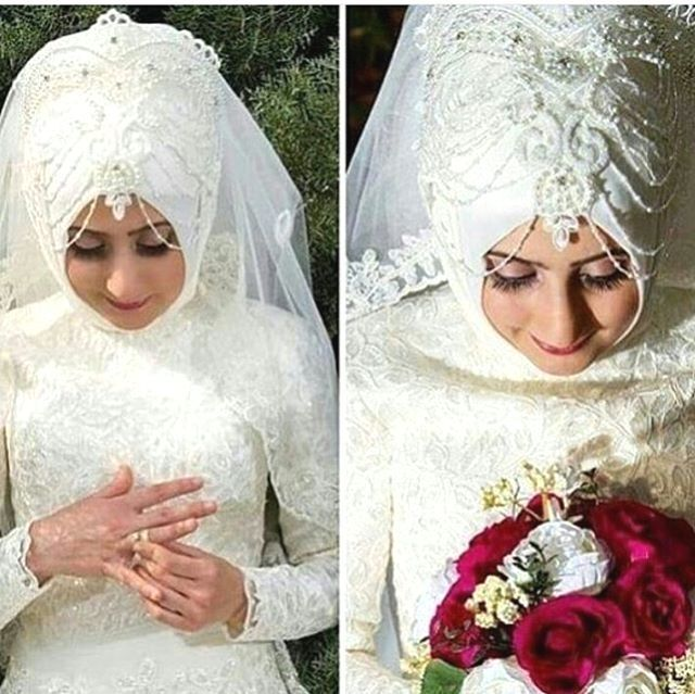 Photo of #Hijab #Wedding #Dress  Hijab Wedding Dress Accessories pers…