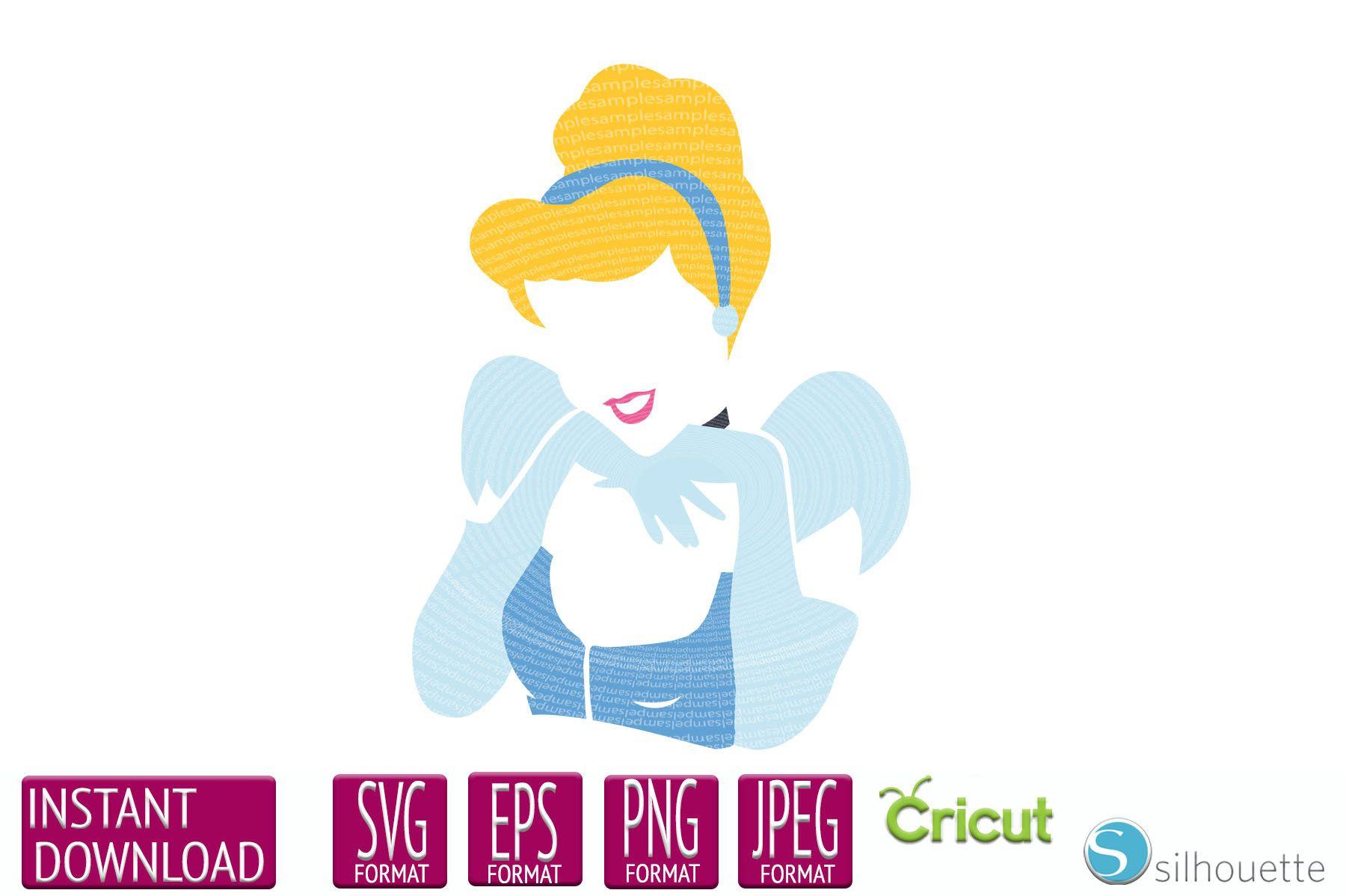 Disney Svg Cinderella Svg Fairy Godmother Disney Svg File