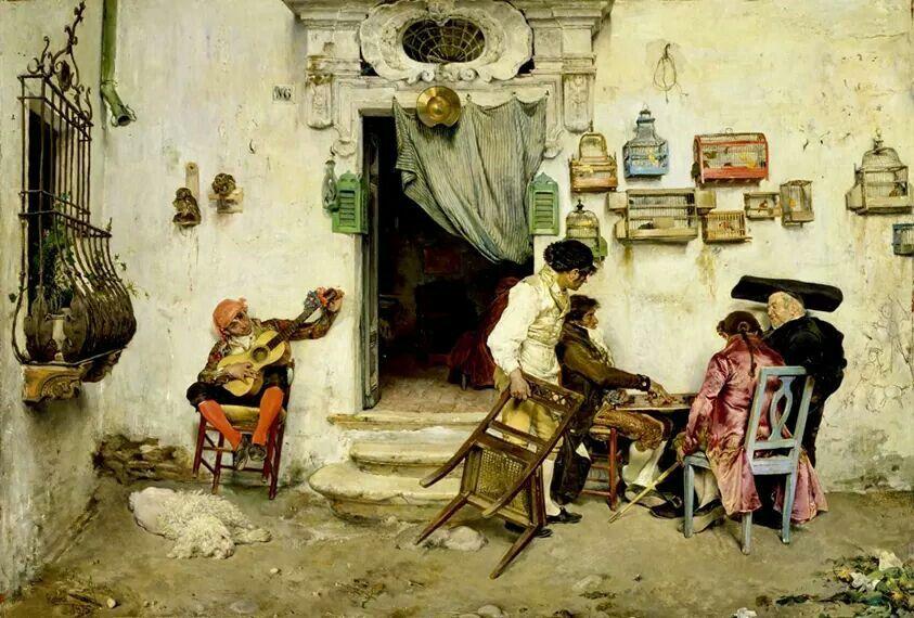 La barbería de Fígaro, 1875