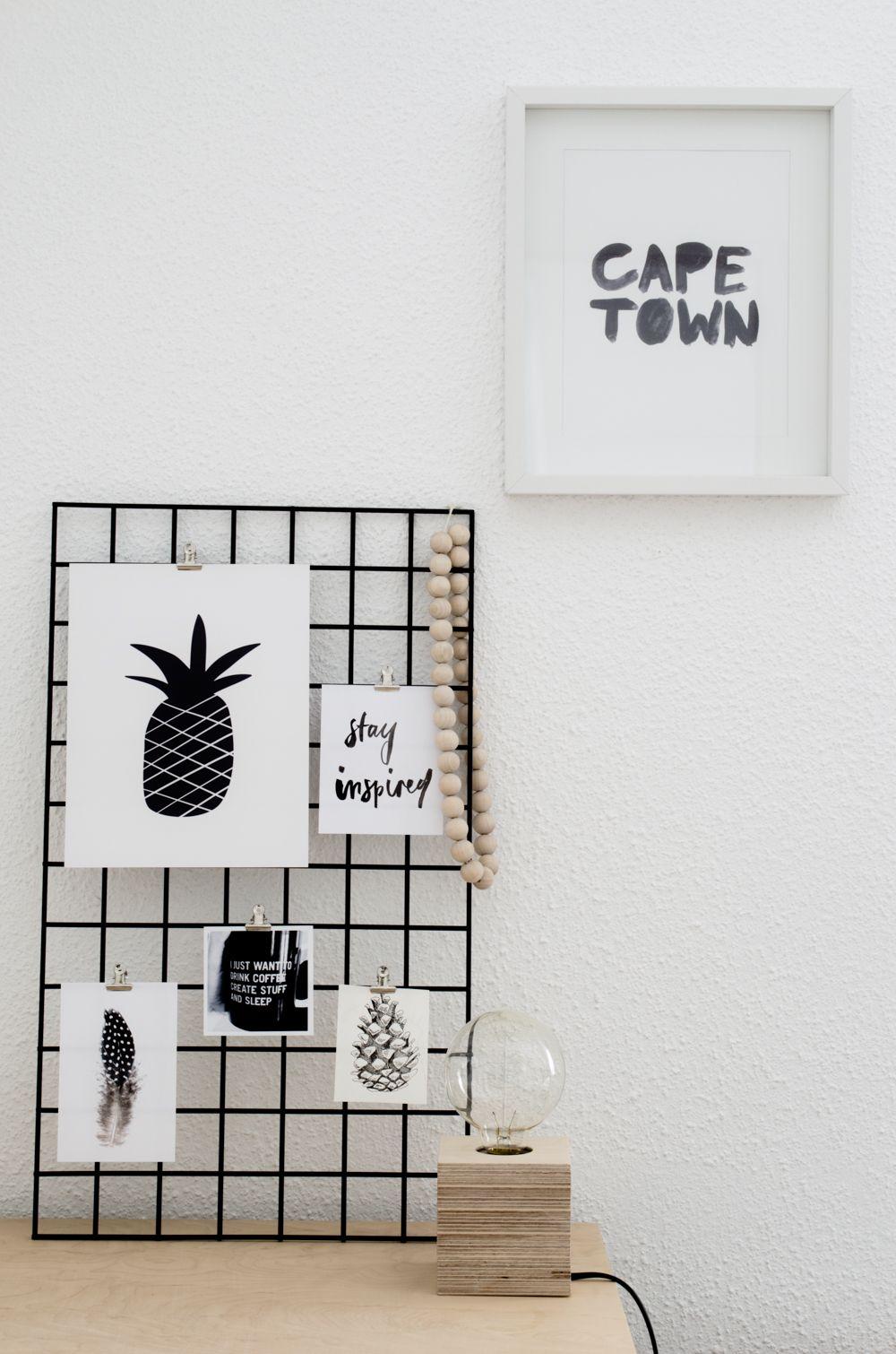 Wire Mesh Board | Wire mesh, Board and Scandinavian style