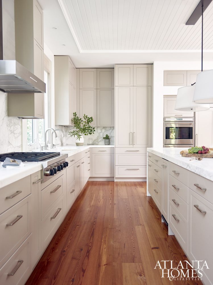 Contemporary White Shaker Kitchen kitchen of the year 2016 contest winner, ginny magher interiors