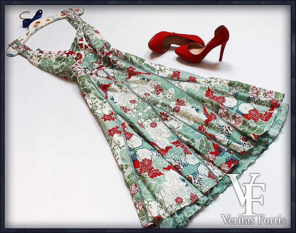 Per Una Kloszowa Sukienka Hafty Aplikacje 44 Xxl 5534414357 Oficjalne Archiwum Allegro Fashion Summer Dresses Dresses