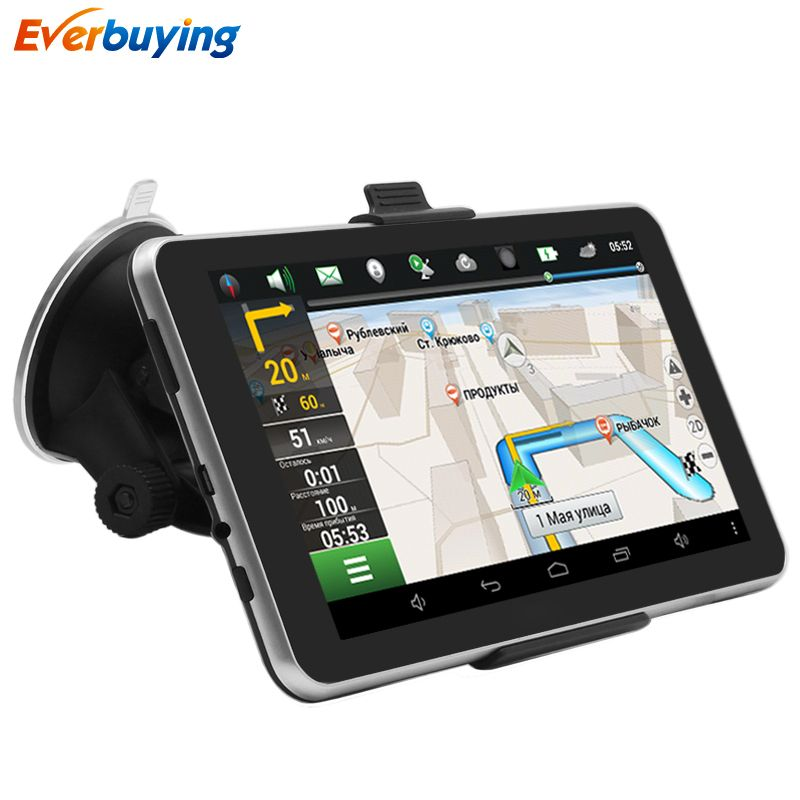 Gps Navigation 7 Inch Touch Screen Support Fm Radio Portable
