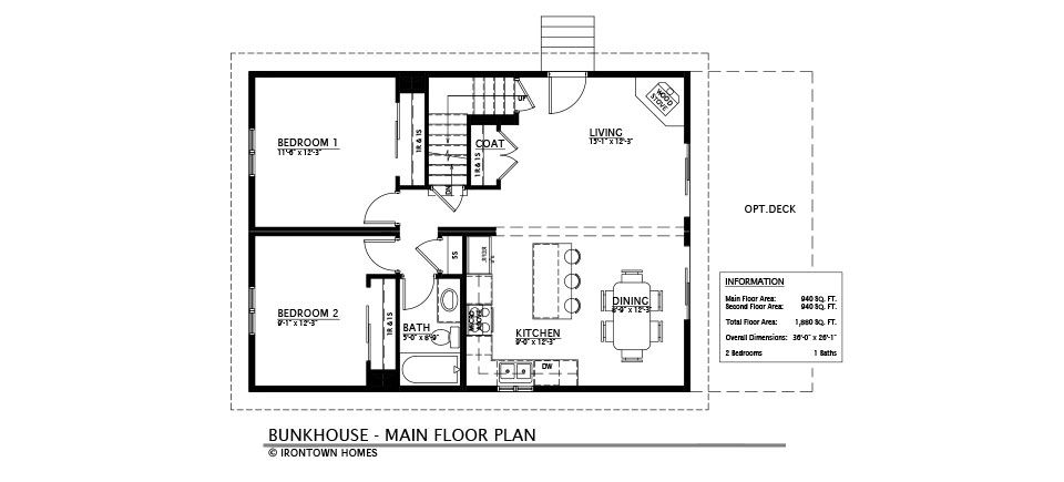 The Bunkhouse Bunk House The Bunkhouse Floor Plans