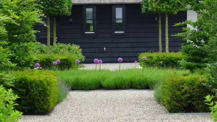 Betimmering voor huidige schuur tuin pinterest moderne tuin tuin en tuinen - Rijtjeshuis fotos ...