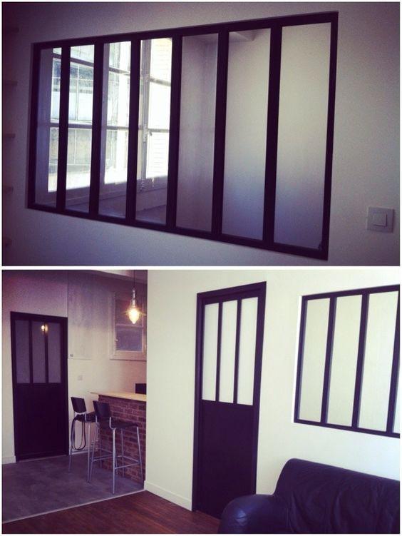 paye ta verri re d atelier sans te ruiner amenagement pinterest verriere verriere atelier. Black Bedroom Furniture Sets. Home Design Ideas