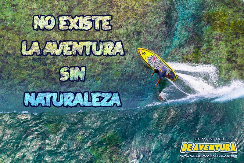 Apoyamos la practica de #deportes #DeAventura responsables con la #naturaleza  #Paddle #Surf