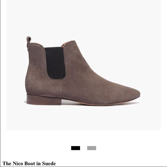 Brand New Madewell Nico Boot❤️ Never worn suede Nico boot. Pointed toe, not too narrow or wide. True to size. These look so good with black skinny jeans and dresses. Madewell Shoes Ankle Boots & Booties