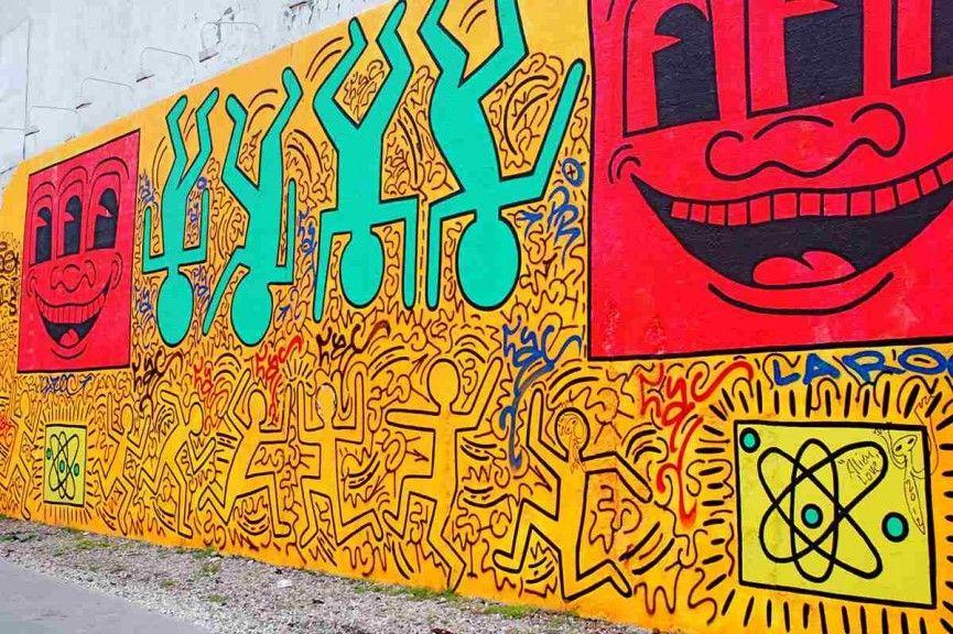 Keith Haring Chalk Street Art in 2020 Haring art