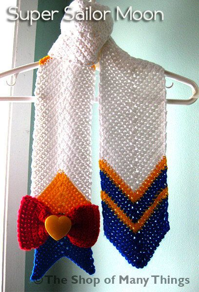 Sailor Moon & Super Sailor Moon Inspired Scarf | Pinterest ...