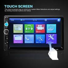 "2 Din 7 ""Pantalla TFT Bluetooth HD 1080 P Radio Car Audio Reproductor MP5 apoyo Vista Atrás Apoyo AUX FM USB SD MMC auto estereos(China (Mainland))"
