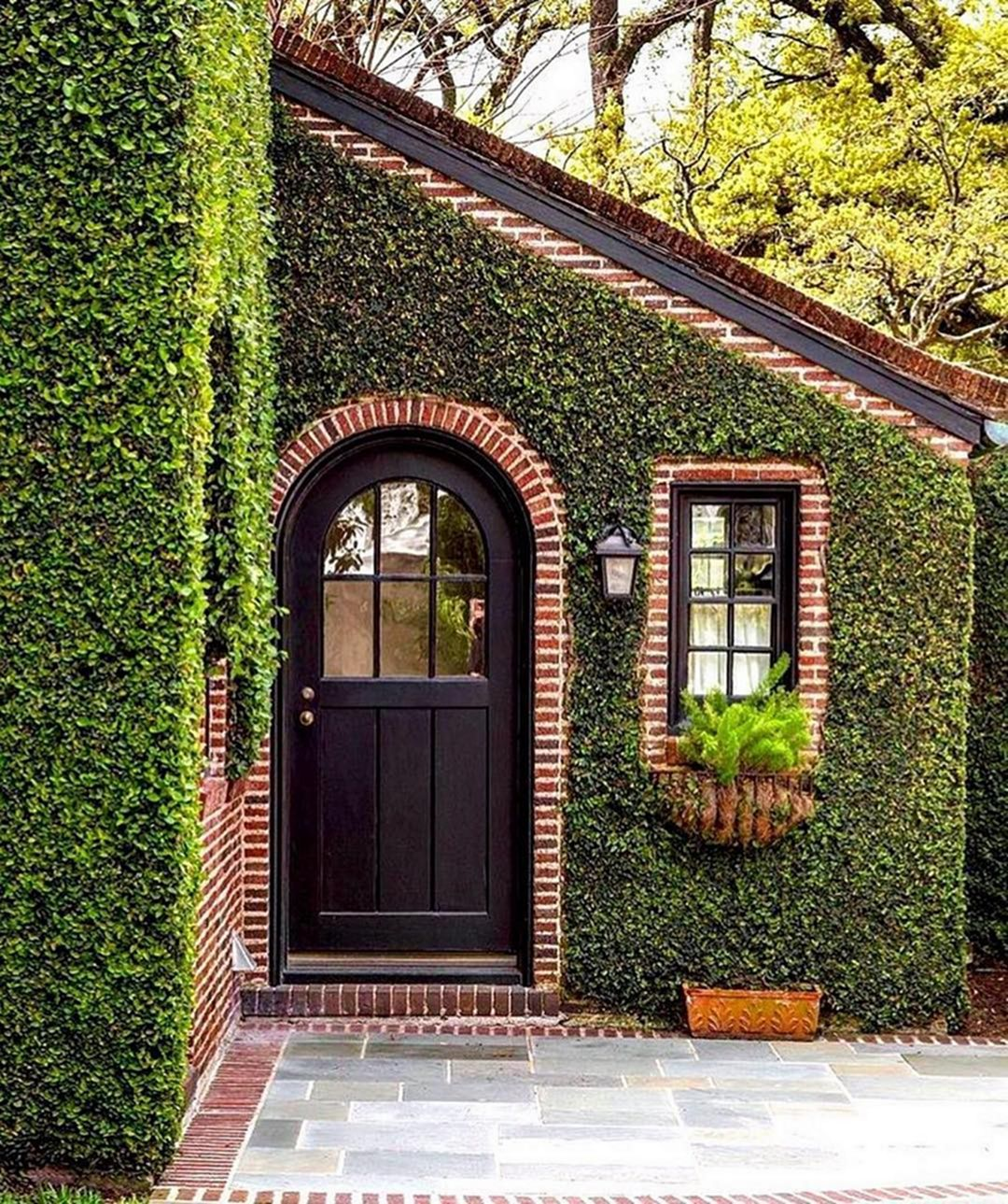 Lovely 20 Cottage Style Landscaping Ideas To Enhance Your: Architecture, Arched Doors, Brick