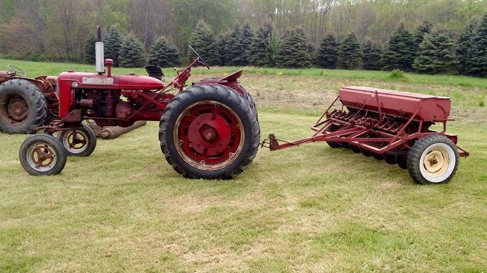 Farmall Super C W Grain Drill Tractors Old Farm Equipment