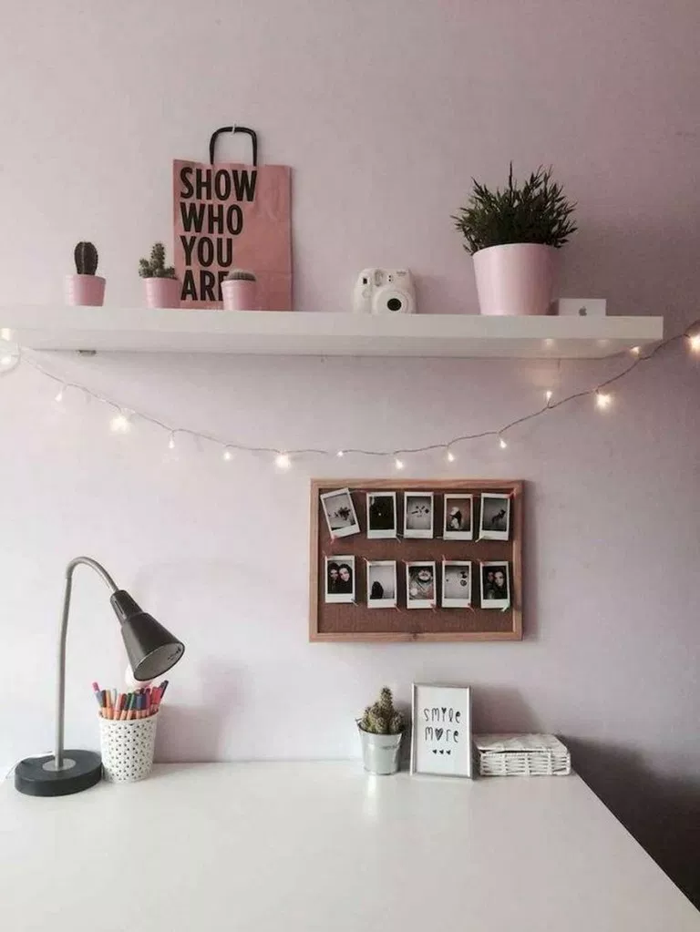 ✔79 cute dorm rooms decoration for cute girl 6 #tumblrrooms