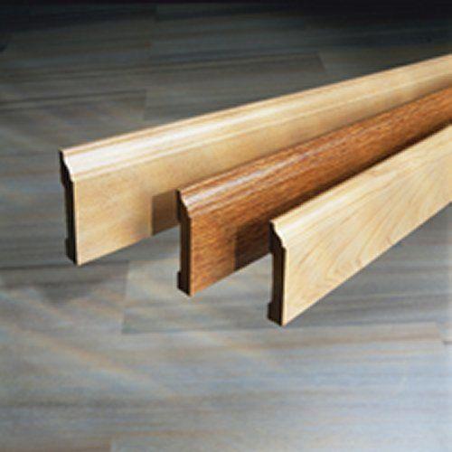 Resultado de imagen de rodapie pasacables electricidad for Zocalos de madera leroy merlin