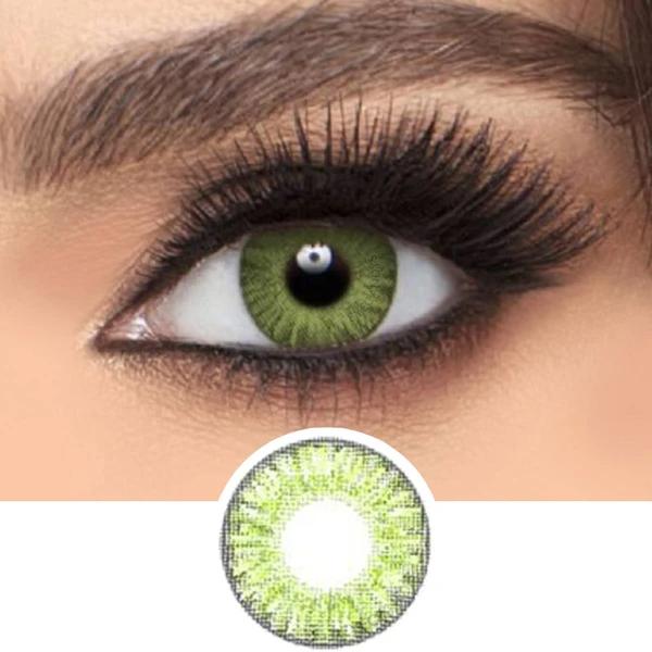 Freshlook Colorblends Gemstone Green Green Colored Contacts Green Contacts Lenses Green Contacts