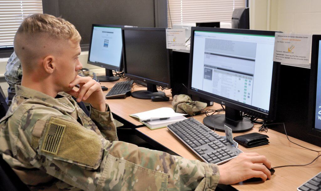 A new program gives Army National Guard soldiers access to
