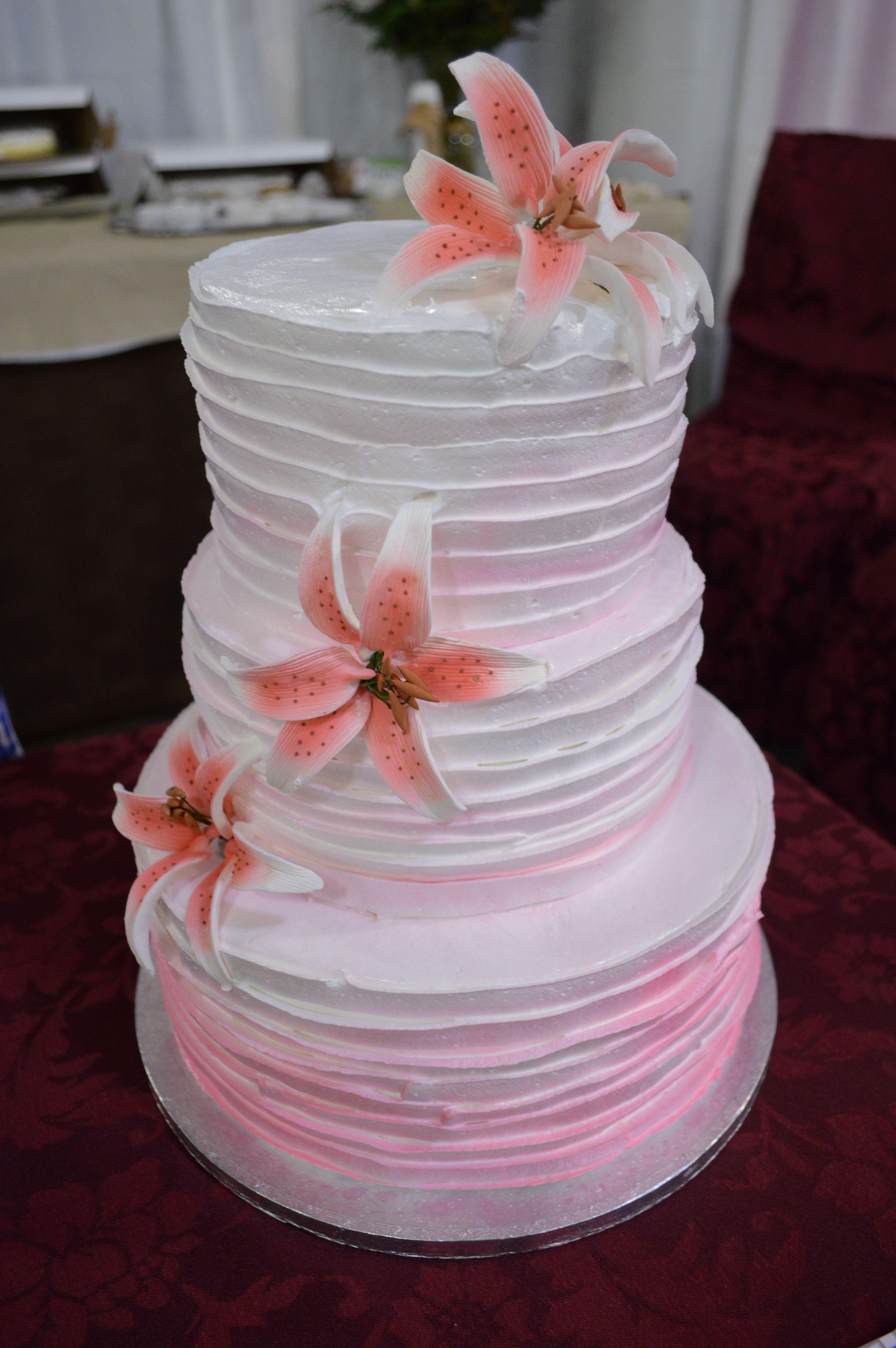 Wedding Cake Design Idea From The Patisserie Three Tier