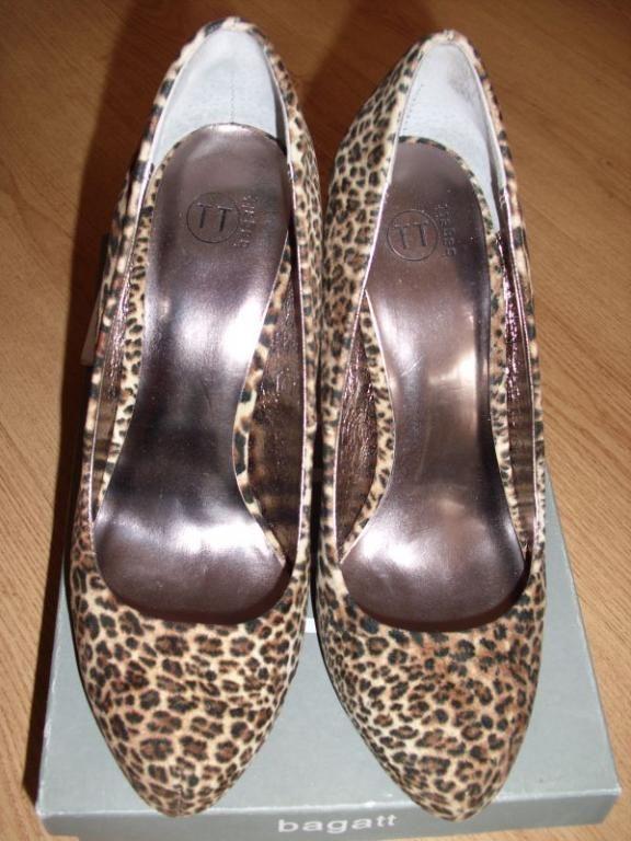 Bagatt Szpilki Panterka Roz 38 Nowe Shoes Fashion Flats