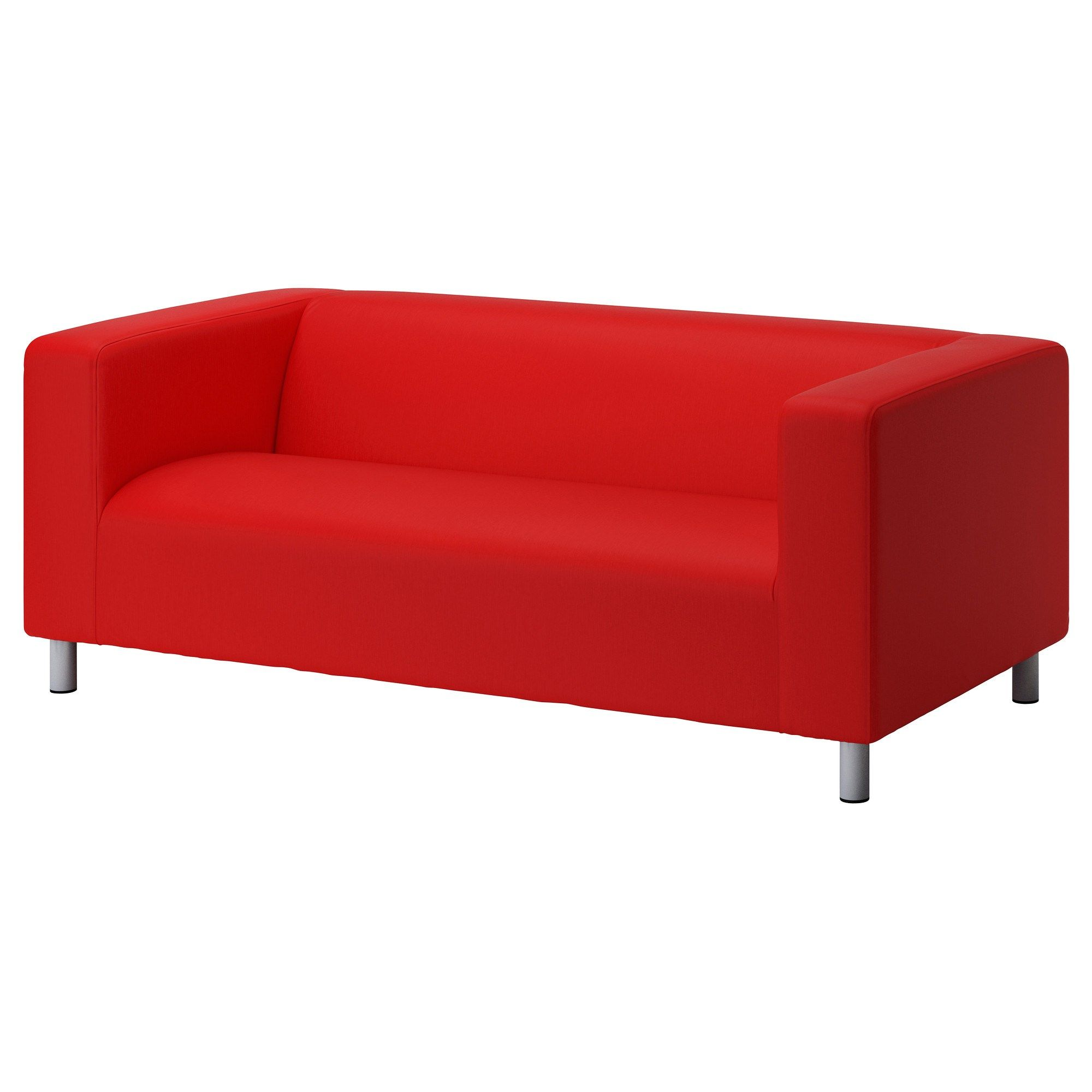 Klippan 2 Li Kanepe Vissle Kirmizi Turuncu Ikea Fikirleri Kanepeler Oturma Odalari