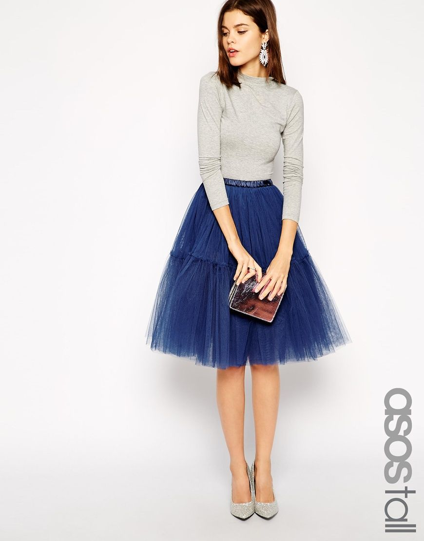 Tulle skirts | Blue dress outfits, Tulle skirts and Dress outfits