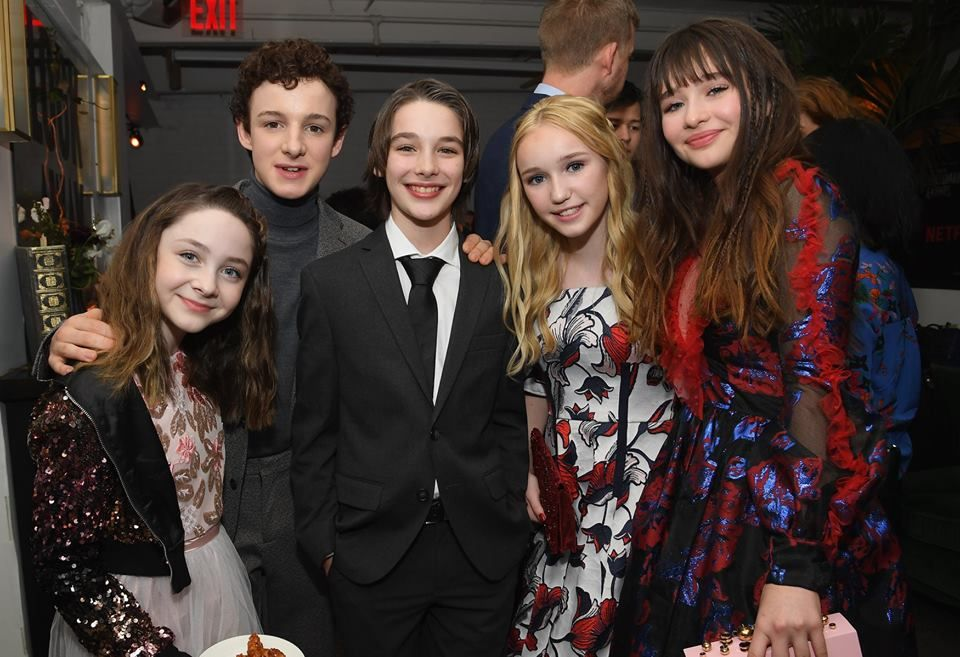 The Kids Of Asoue On The Black Carpet For Season 2 With Images