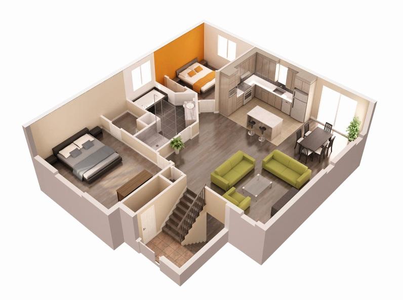 Creer Plan Maison 3d En Gratuit Rraf Info Dessin | Maison