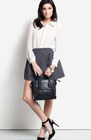 DailyLook: Polka Dot Perfection