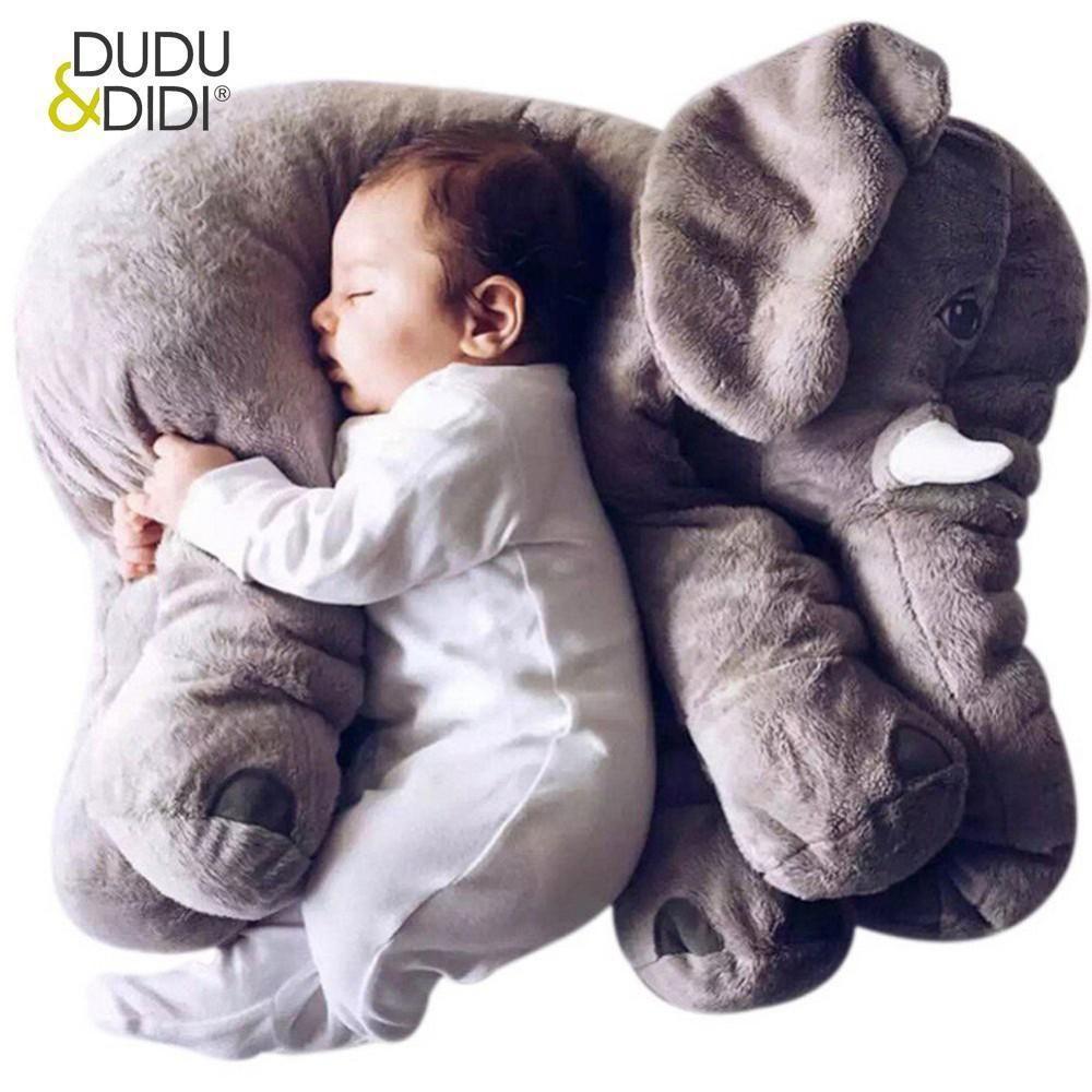 1a0ac9339 40 60CM Elephant Plush Pillow Infant Soft For Sleeping Stuffed ...