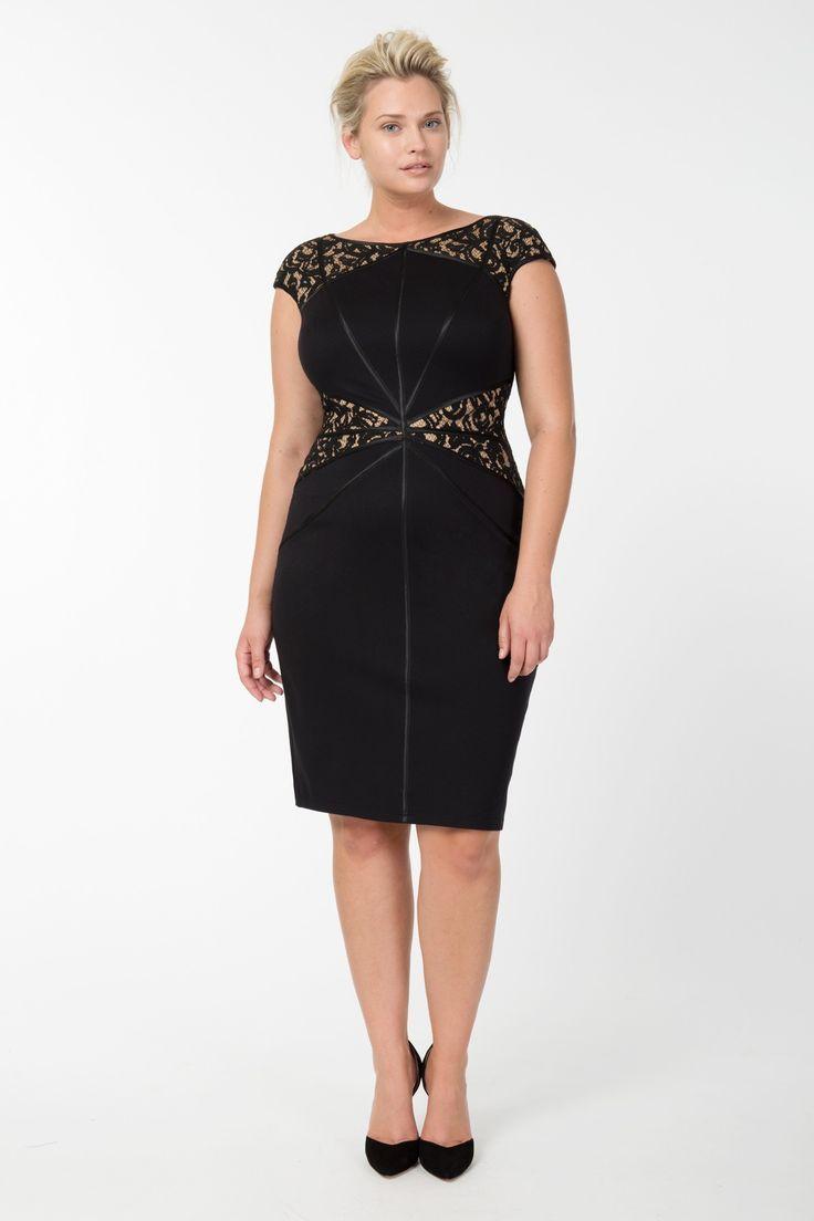 mulheres mais vestidos do tamanho dillards | moda plus size