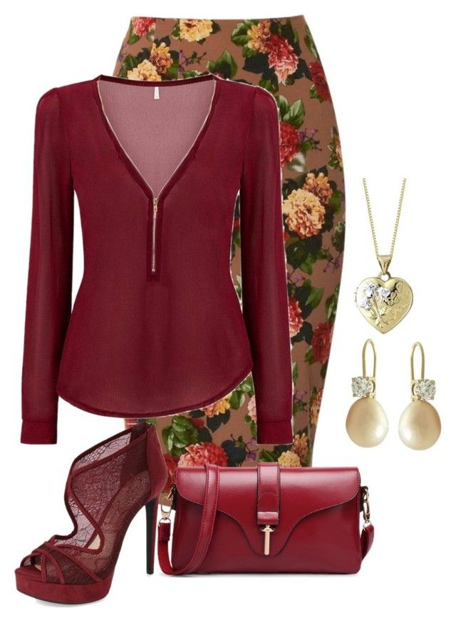 """Untitled #3336"" by rkdk1101 ❤ liked on Polyvore featuring Louche and Jessica Simpson"