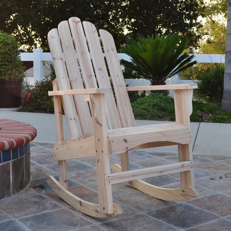 Wooden Rocking Adirondack Chair Adirondack rocking chair