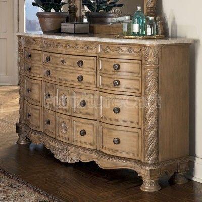 South Coast Dresser Sleigh Bedroom Set Dark Bedroom Furniture Ashley Furniture
