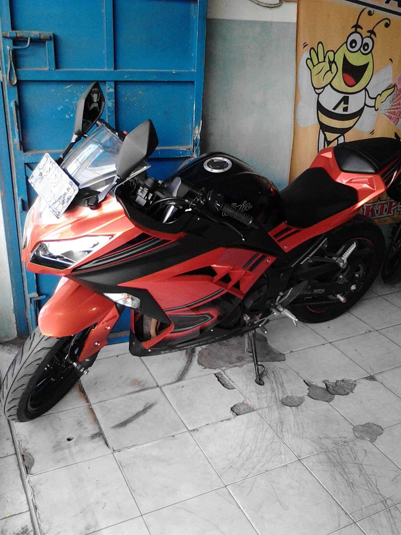 Kredit Murah Motor Bekas Kawasaki Ninja 250 Abs Se Orange 2013