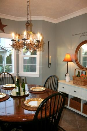 Behr Sage Gray Room Paint Colors Dining