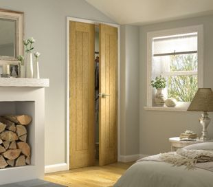 Wickes Geneva Internal Oak Veneer Door 5 Panel 1981 x 457mm | Wickes.co. & Wickes Geneva Internal Cottage 5 Panel Oak Door - 1981 x 457mm ...