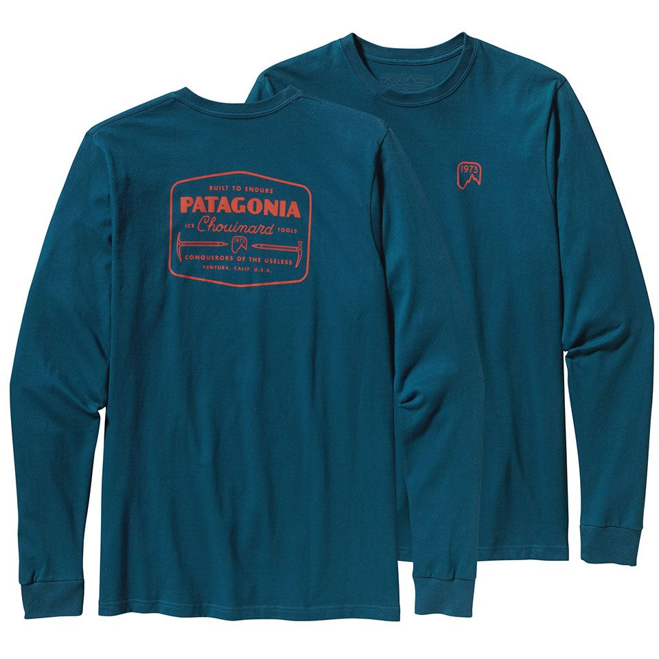 Patagonia Chouinard Ice Tools L/S - Mens | Patagonia for sale at US Outdoor Store