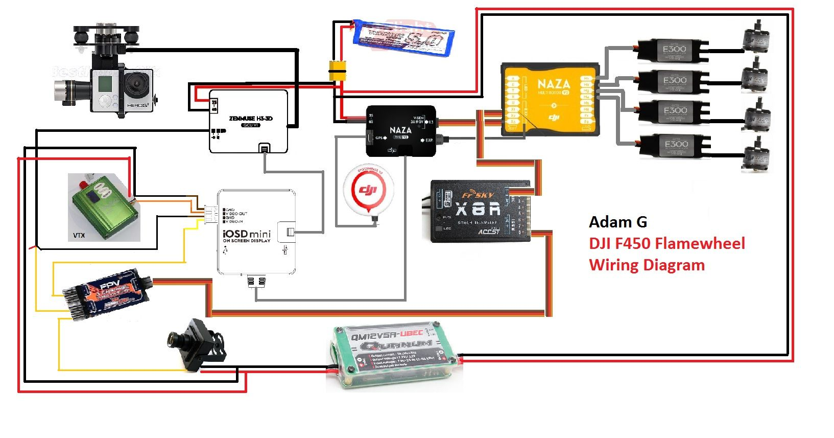 Pin De Jorge Francisco Antunes Em Fpv Switch Pinterest Diagram E Quadcopter Flame Wheel 450 Wiring