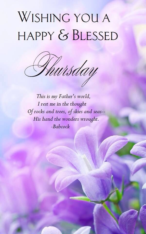Happy Blessed Thursday Thursday Wednesday Morning Quotes