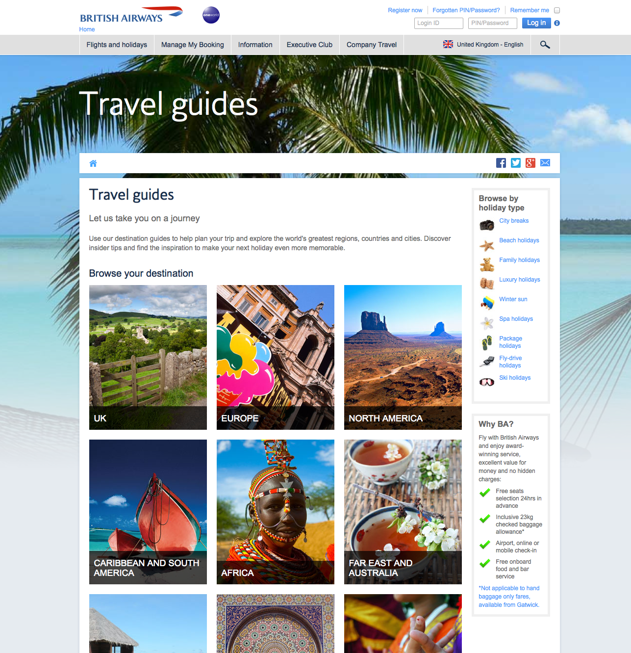 Online travel research