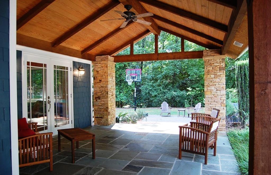 Backyard Porch Back Porch Designs Ideas Jburgh Homes The Amazing