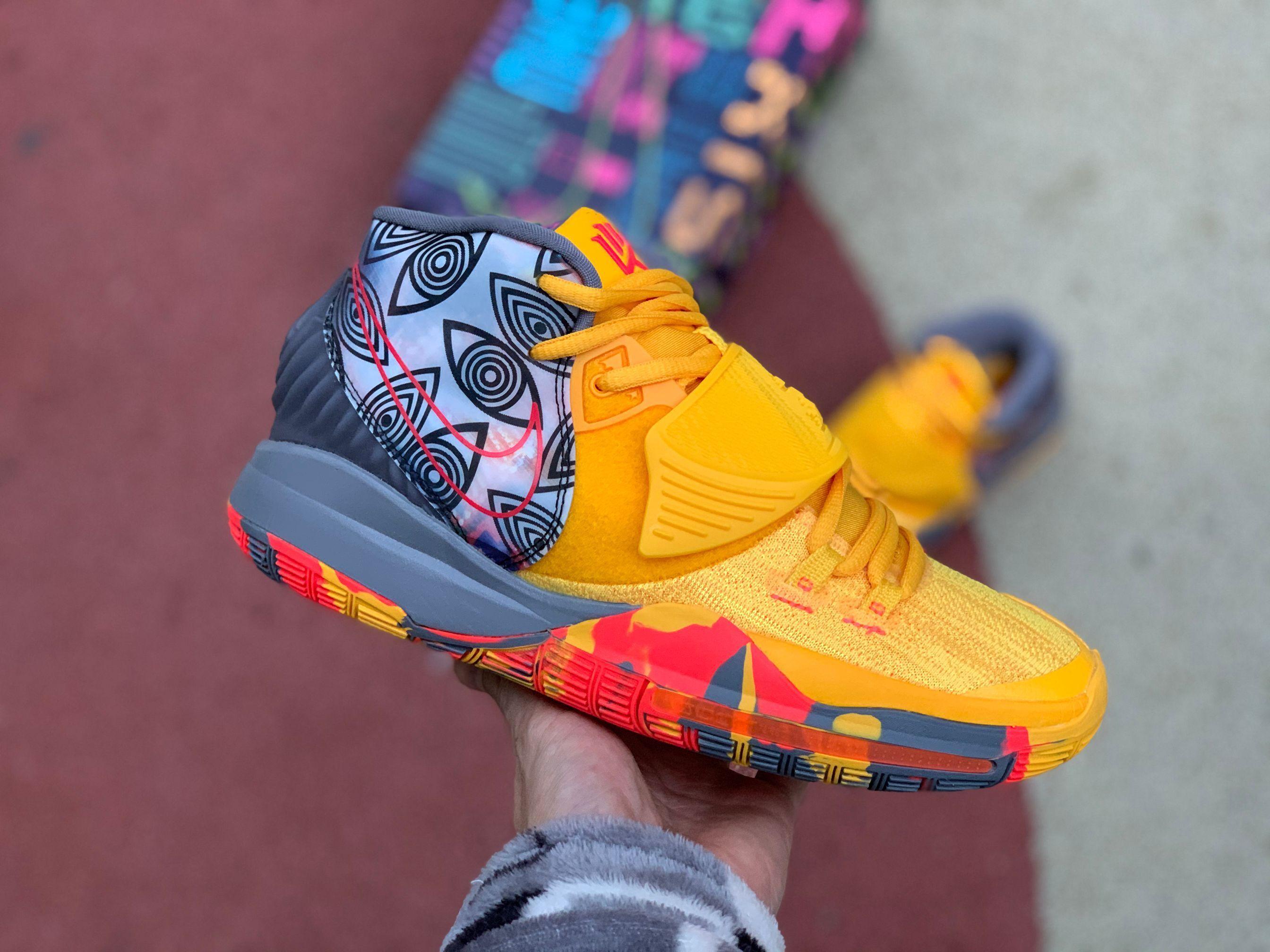 Cheap Nike Kyrie 6 Pre Heat Beijing Cq7634 701 Men Sneakers In 2020 Nike Kyrie Nike Men Jordan Shoes New Release